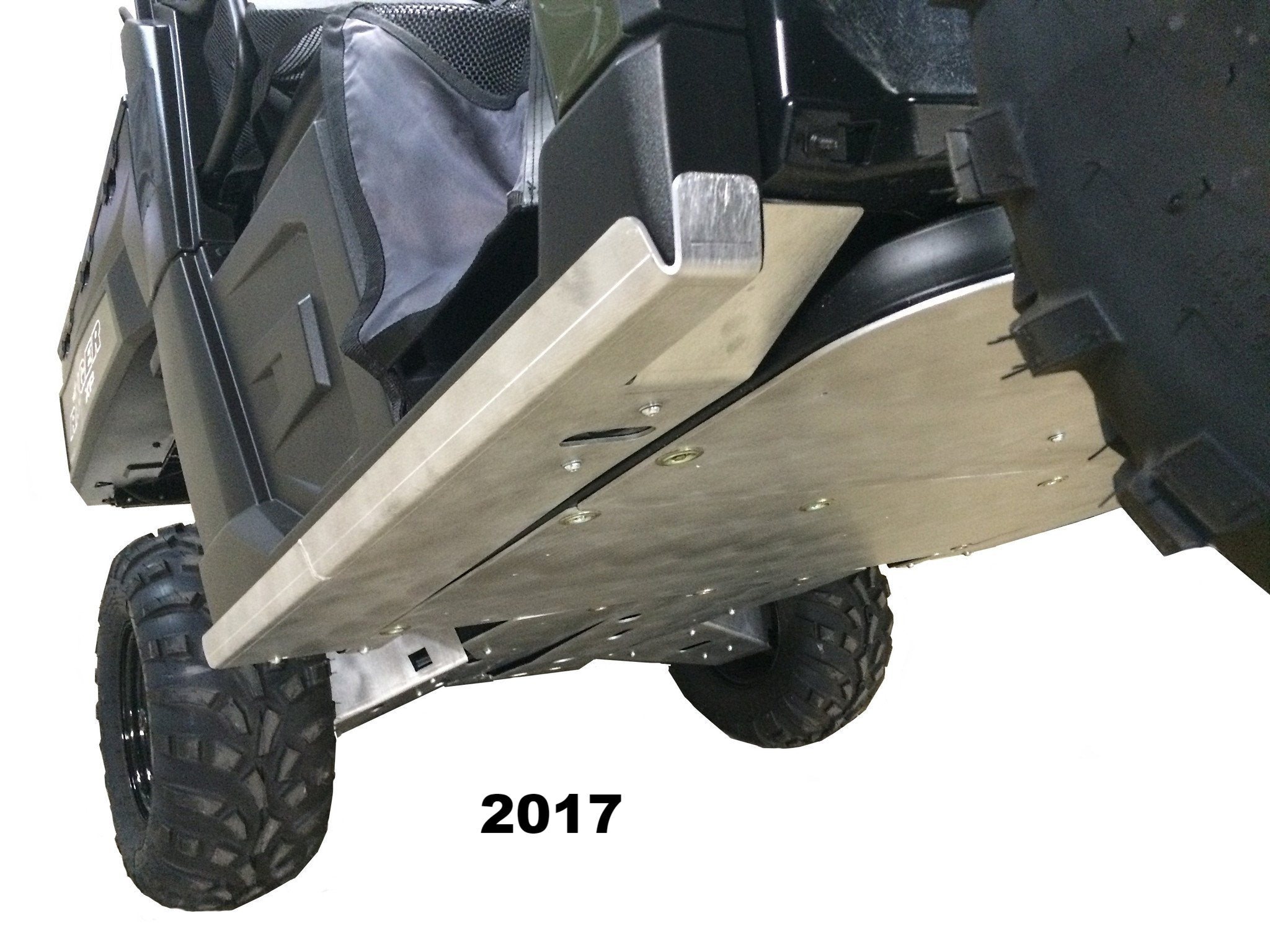 Rockslider skids for Ranger XP1000