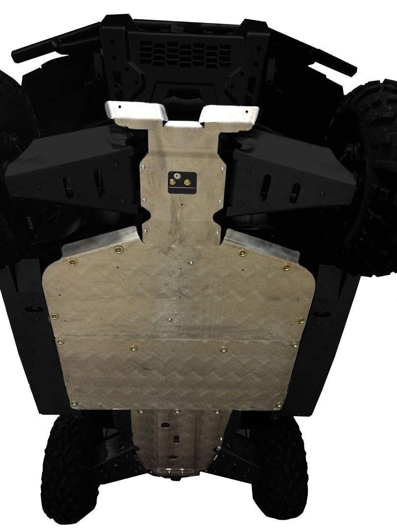 4-Piece Full Frame Skid Plate Set, Polaris Ranger XP 570