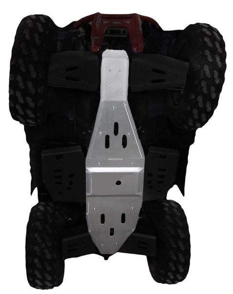 2-Piece Full Frame Skid Plate Set, Polaris Scrambler 1000