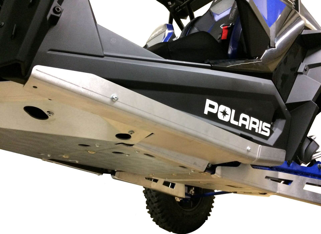2-Piece Aluminum Rock Sliders, Polaris RZR XP Turbo S