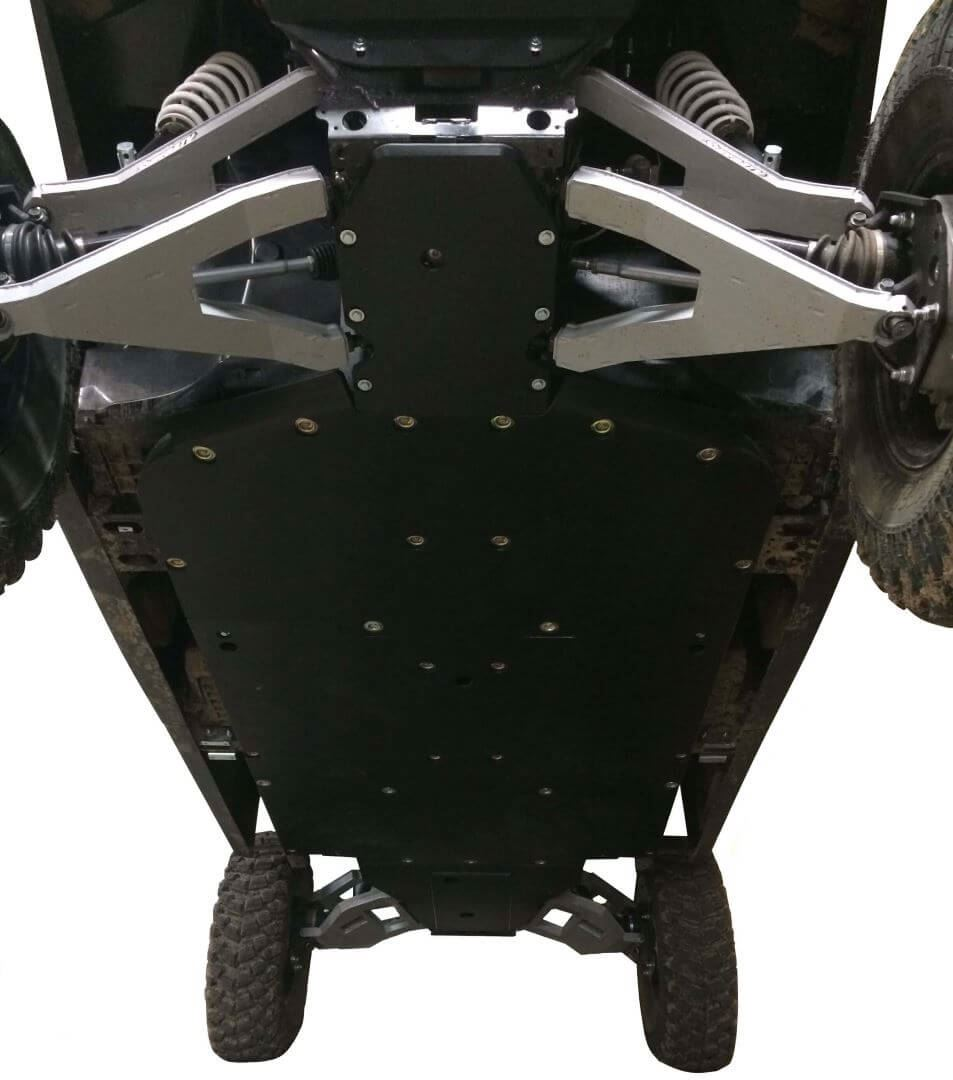 13-Piece Complete Aluminum or with UHMW Skid Plate Set, Polaris Ranger Crew XP 1000