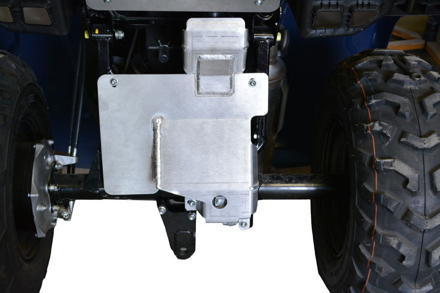 Rear Differential Skid Plate, Honda TRX420 FourTrax Rancher (Straight Axle)