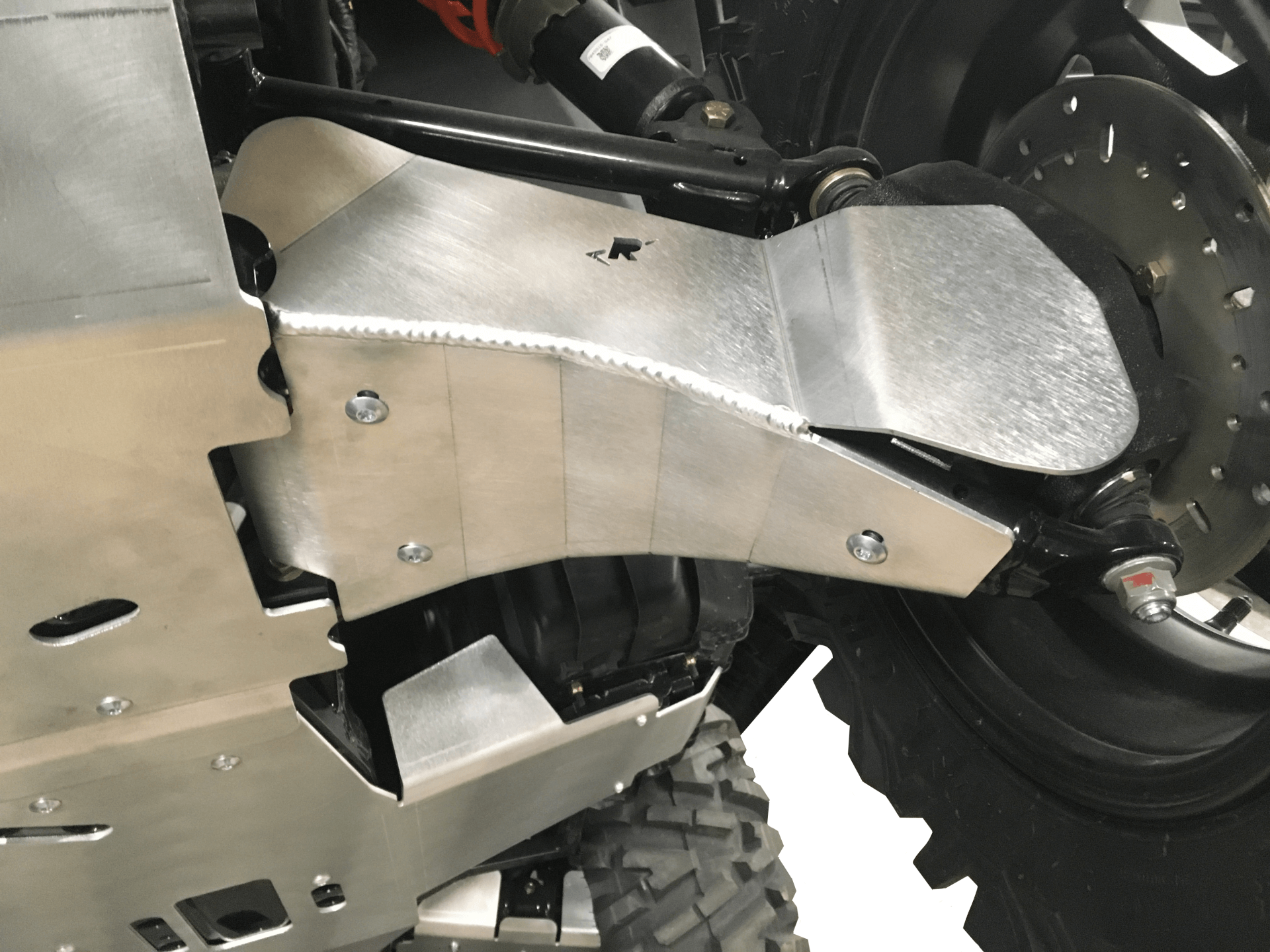 4-Piece Aluminum A-Arm & CV Boot Guard Set, Polaris Sportsman Trail 450