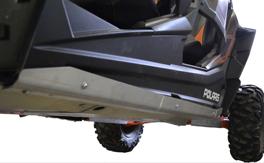 2-Piece Aluminum Rock Slider Set, Polaris RZR XP-4 Turbo EPS