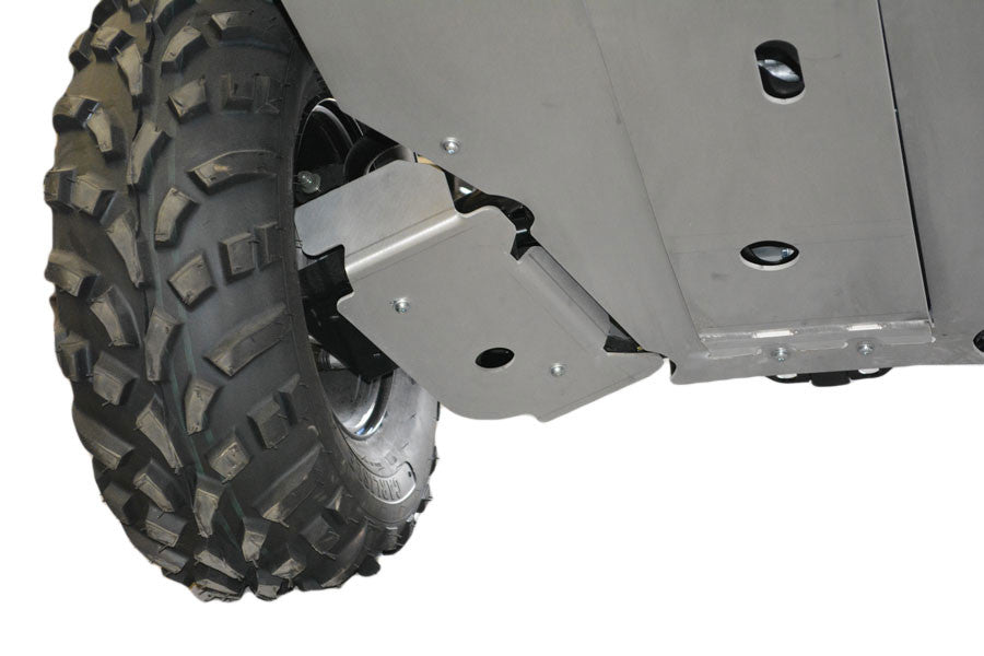 7-Piece Complete Aluminum Skid Plate Set, Polaris Sportsman ACE