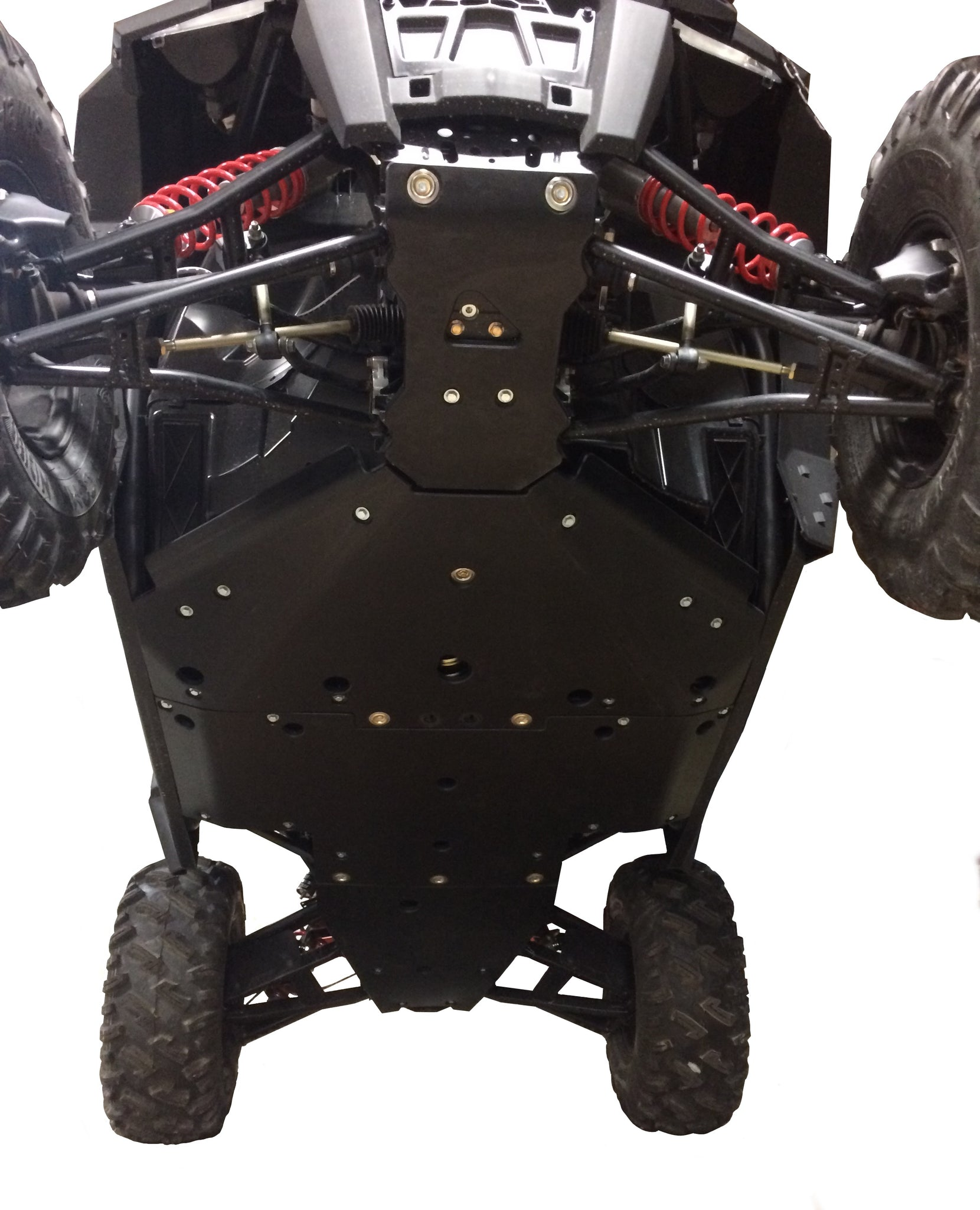 4-Piece Full Frame Skid Plate Set, Polaris RZR 900 XC