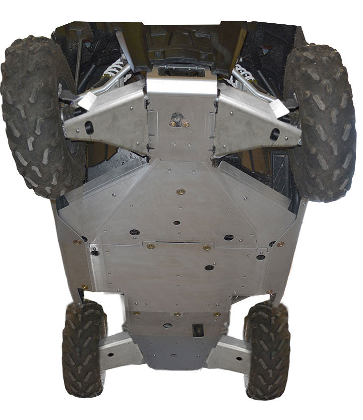 10-Piece Complete Aluminum or UHMW Skid Plate Set, Polaris RZR-S 1000