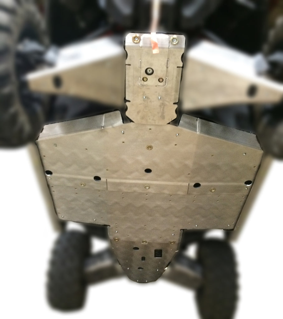 4-Piece Full Frame Skid Plate Set, Polaris General 1000