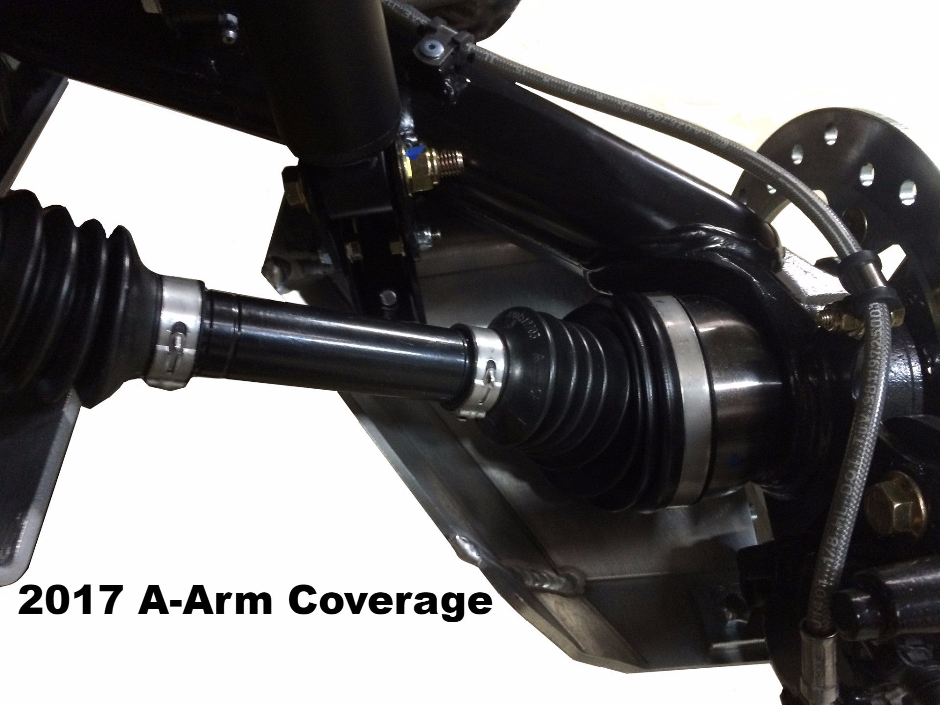 4-Piece Front & Rear A-Arm & CV boot Guard Set, Can-Am Outlander 800 Max
