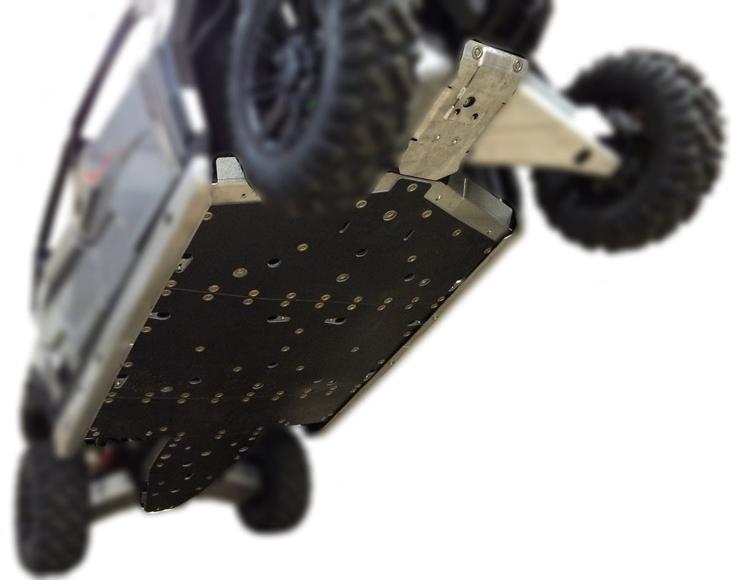 5-Piece Full Frame Skid Plate Set, Polaris General 4 1000