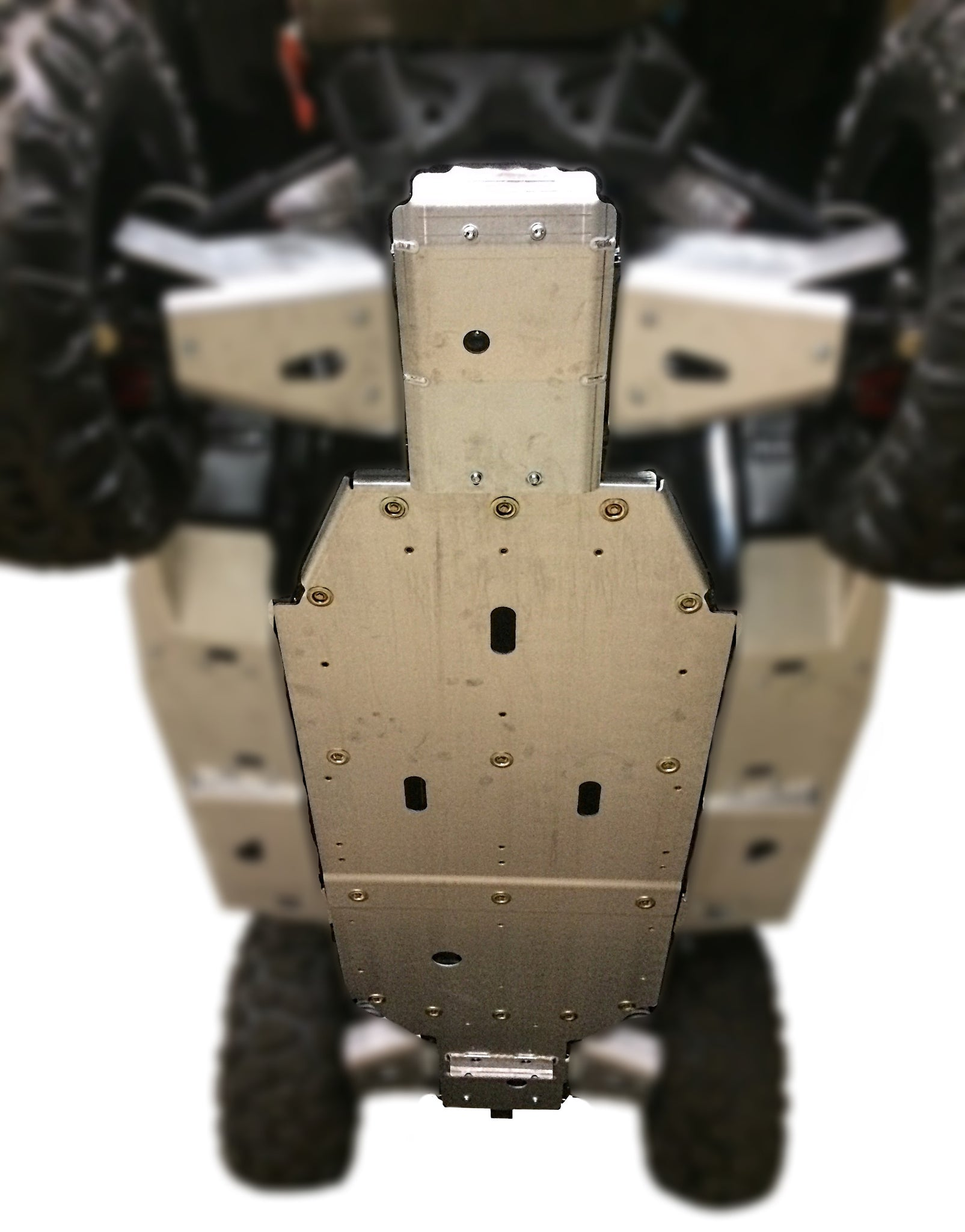 3-Piece Full Frame Skid Plate Set, CFMOTO ZForce 1000