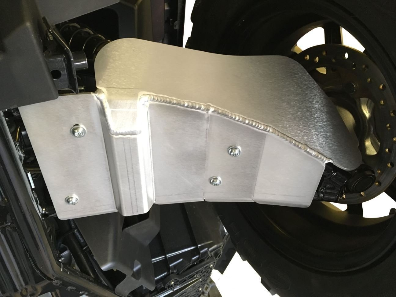 4-Piece Aluminum A-Arm & CV Boot Guard Set, Polaris Sportsman 1000