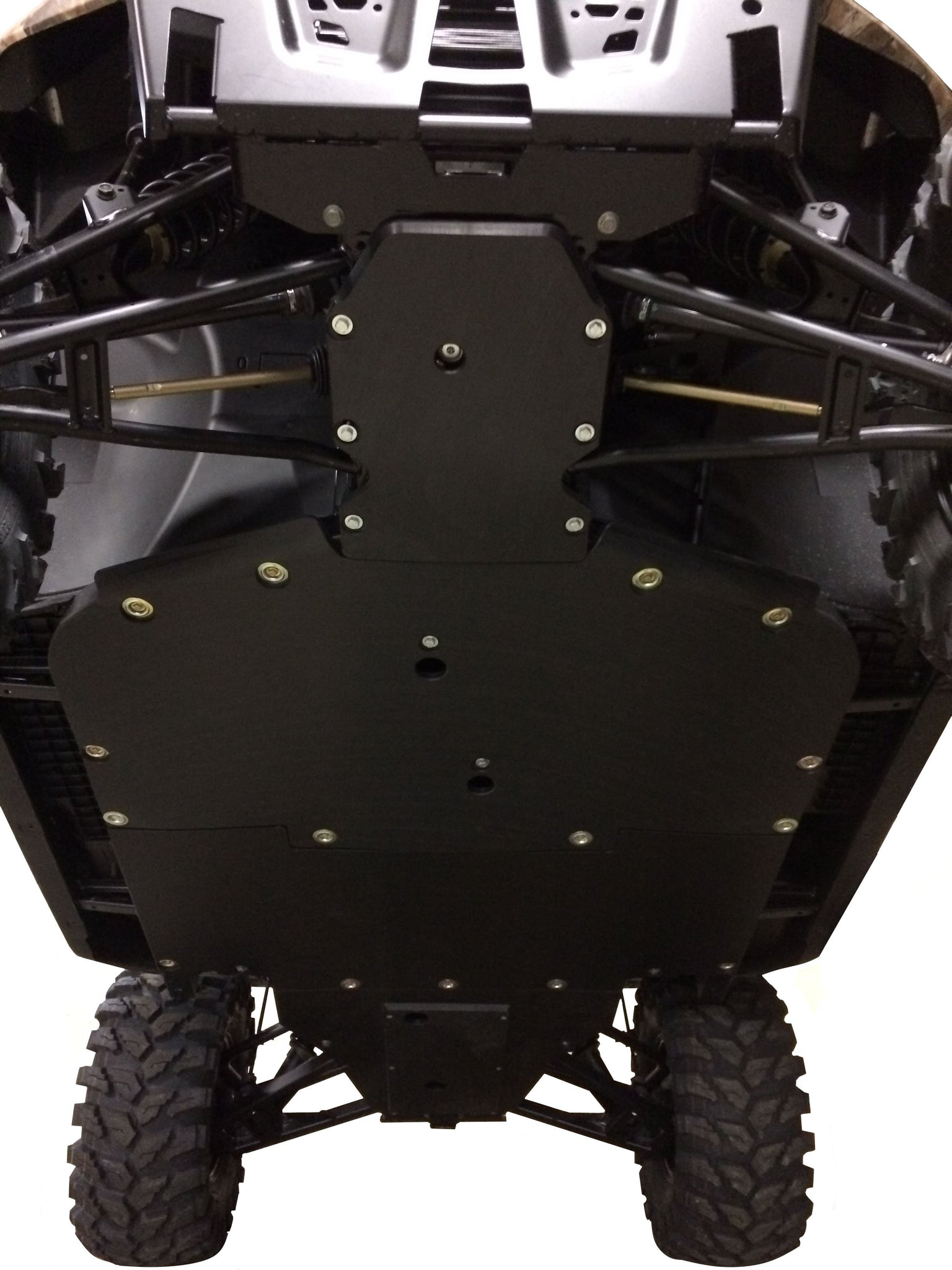 4-Piece Full Frame Skid Plate Set, Polaris Ranger XP 1000