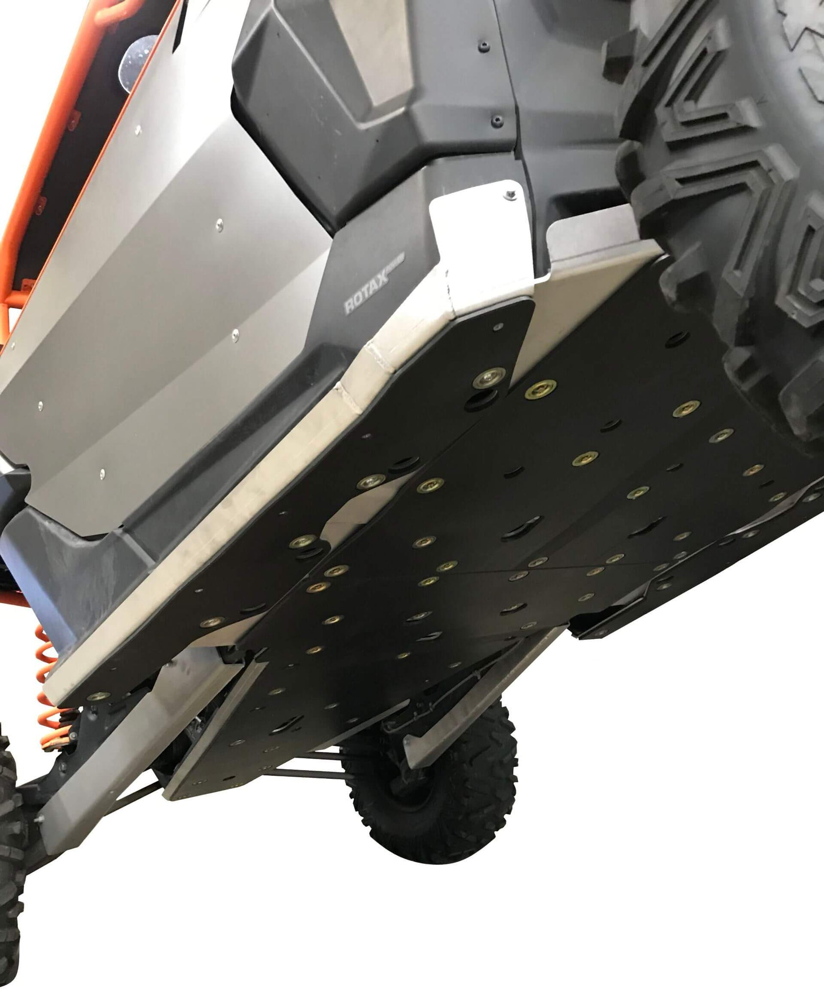 6-Piece Full Frame Skid Plate Set, Can-Am Maverick X3 X RS