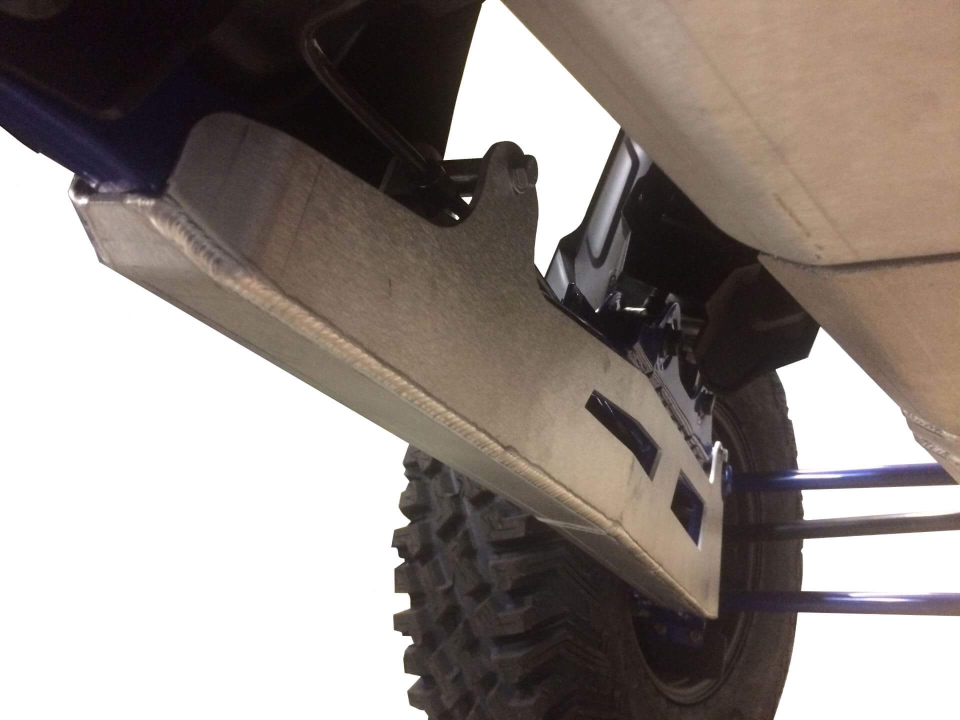 2-Piece Rear Linkage Guards, Polaris RZR XP Pro