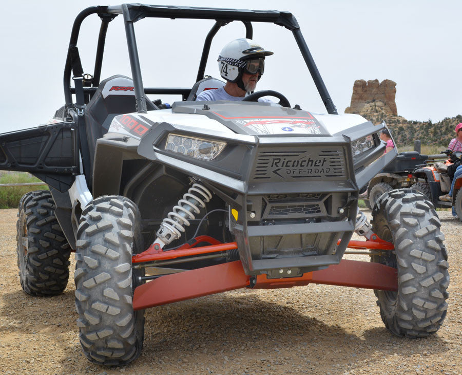 Ricochet Custom Bumper & Brush Guard, RZR-S 900