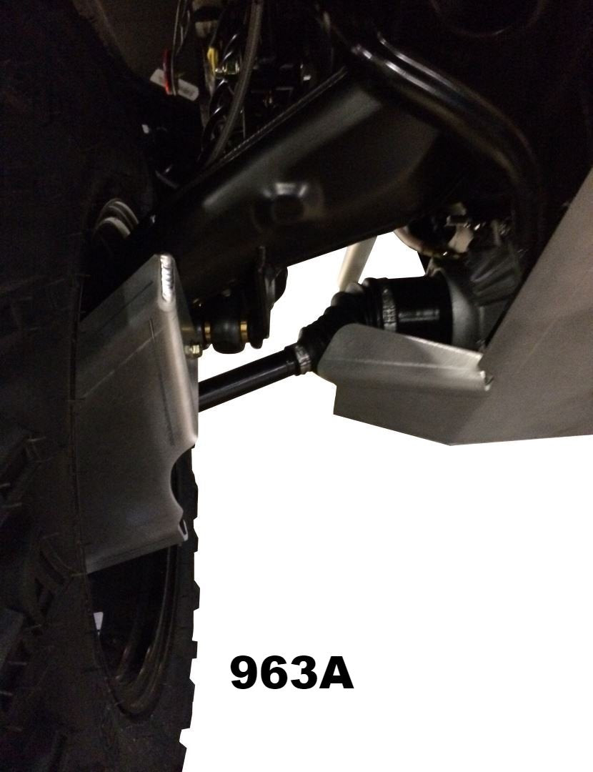 4-Piece Front & Rear A-Arm & CV boot Guard Set, 2013-2020 Can-Am Outlander 850 Max