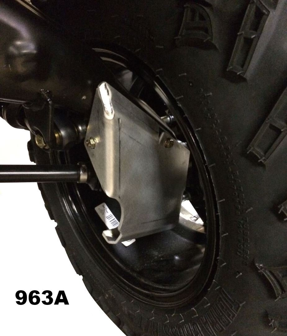 4-Piece Front & Rear A-Arm & CV boot Guard Set, 2013-2021 Can-Am Outlander 850 Max