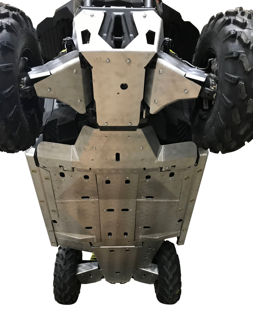 12-Piece Complete Aluminum Skid Plate Set, Can-Am Maverick Trail