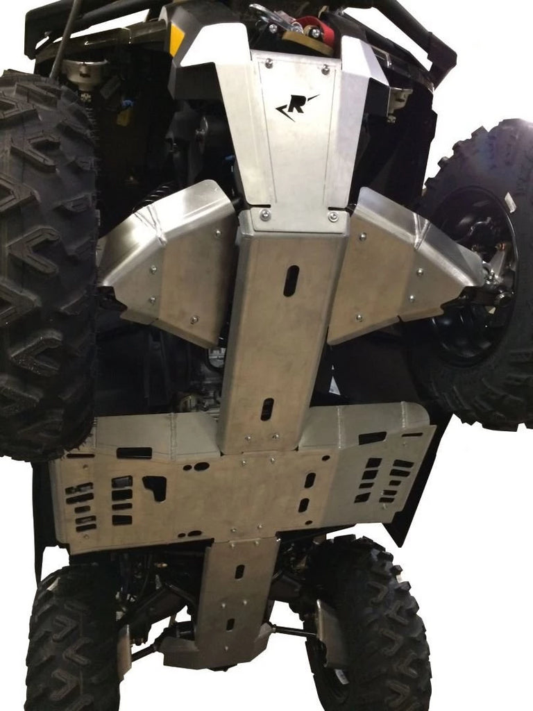 8-Piece Complete Aluminum Skid Plate Set, 2012-2019 Can-Am Outlander 1000/DPS