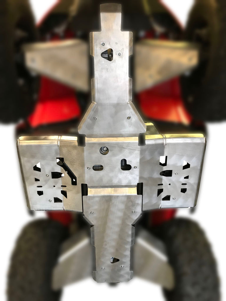 3-Piece Full Frame Skid Plate Set, Textron Alterra 570/700