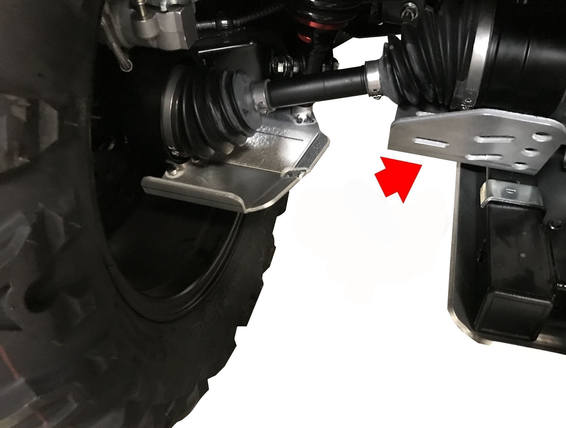 2-Piece Inner CV Boot Guards, CFMOTO CForce 800 XC