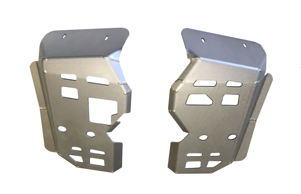 2-Piece Floor Board Skid Plate Set, Honda TRX500 Rubicon