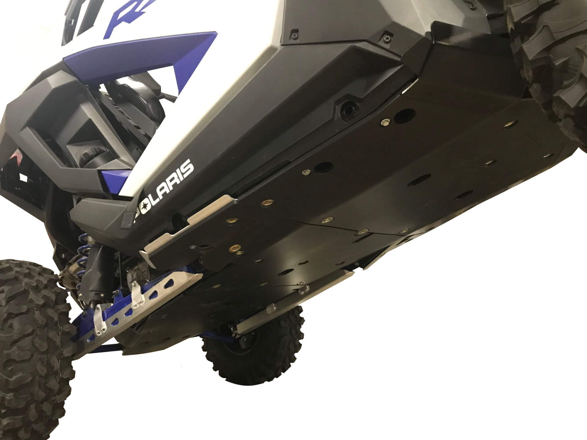 6-Piece Aluminum or UHMW  Frame and Rock Slider Skid Plate Set, Polaris RZR XP Pro