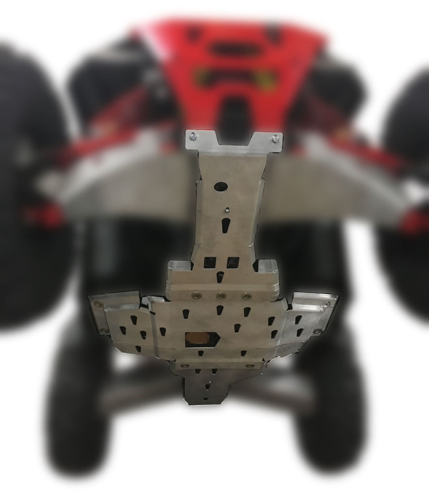 3-Piece Full Frame Skid Plate Set, Polaris Sportsman 1000 S