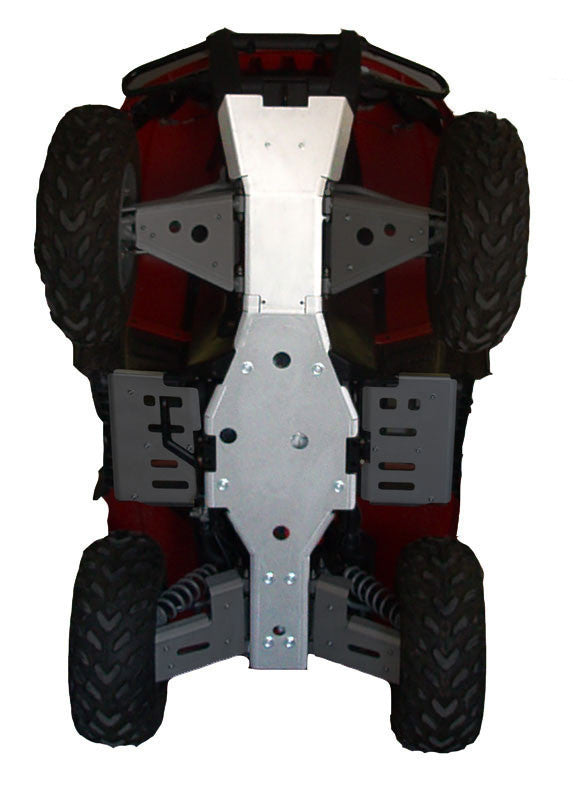 2-Piece Full Frame Skid Plate Set, Arctic Cat 500 TRV