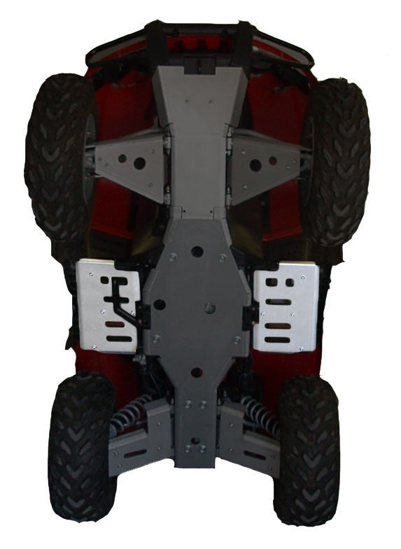 2-Piece Floorboard Skid Plate Set, Arctic Cat TBX 700