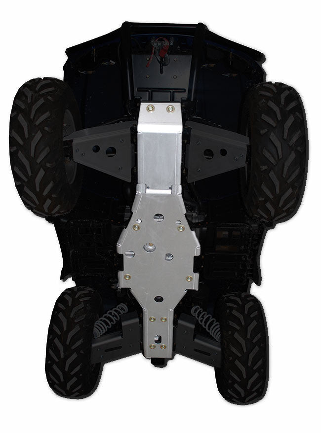 2-Piece Full Frame Skid Plate Set, Arctic Cat TBX 700