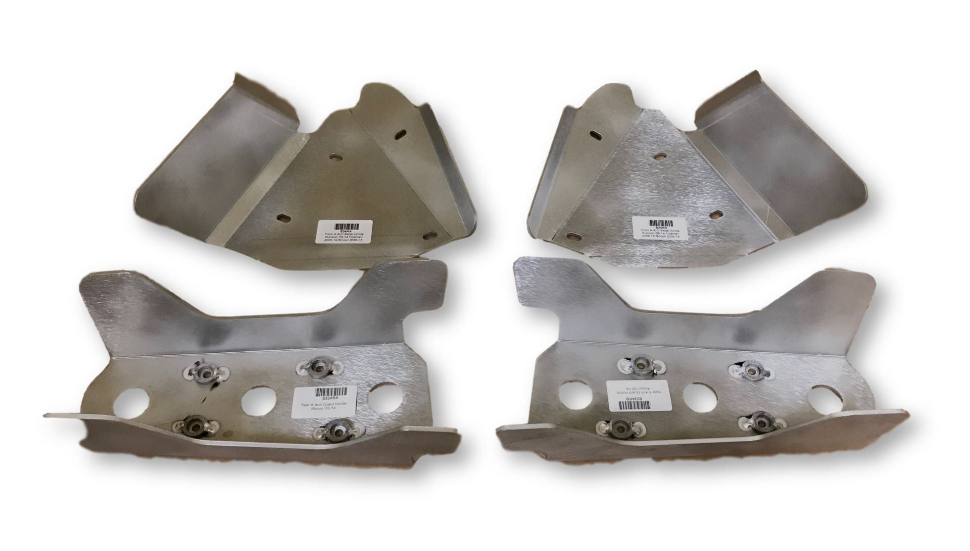 4-Piece A-Arm & CV Boot Guard Set, Honda TRX650 Rincon