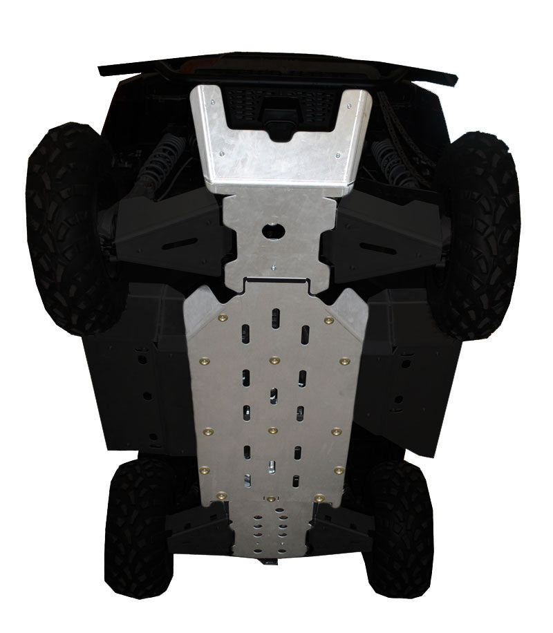 3-Piece Full Frame Skid Plate Set, Polaris Ranger 500