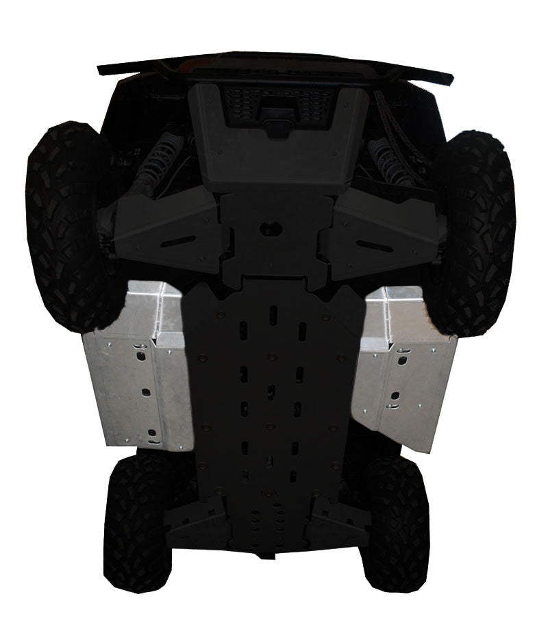 2-Piece Rock Slider & Floor Board Skid Plate Set, Polaris Ranger 570 ETX