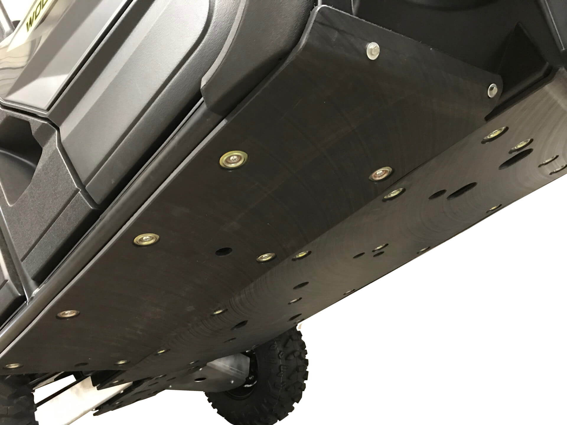 2-Piece Floorboard Skid with Rock Sliders, Yamaha Wolverine X2