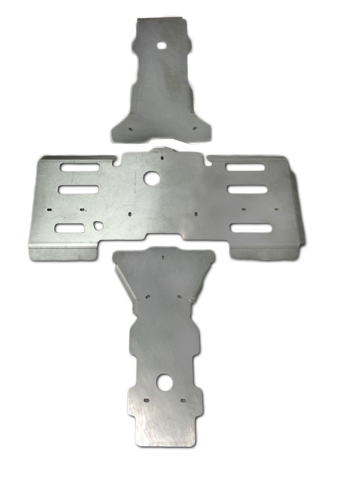 3-Piece Full Frame Skid Plate Set, Arctic Cat 400 Mid-Size