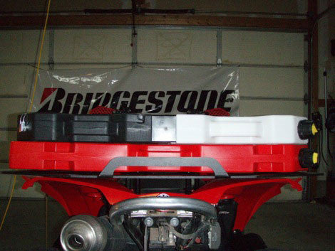 Can-Am Renegade Full Size Rear Luggage or Fuel Pack Rack