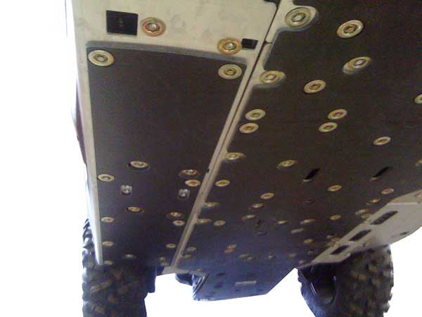 11-Piece Complete Aluminum Skid Plate Set, Can-Am Commander MAX