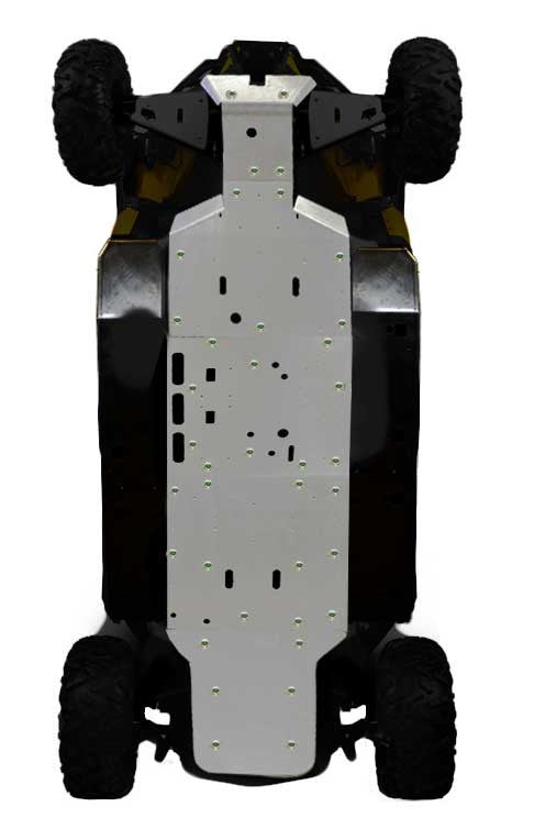 5-Piece Full Frame Skid Plate Set, Can-Am Commander MAX