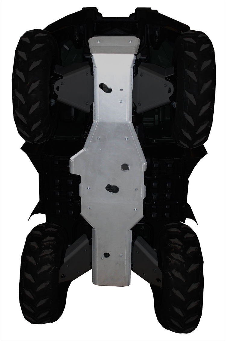 2-Piece Full Frame Aluminum Skid Plate, Yamaha Grizzly 450 (350i)