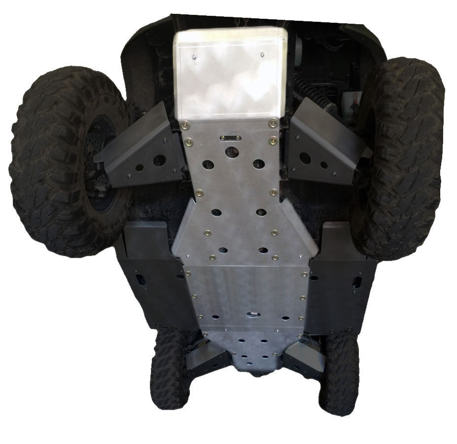 4-Piece Full Frame Skid Plate Set, KYMCO UXV 700