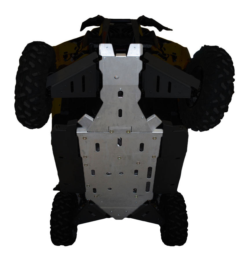 3-Piece Full Frame Skid Plate Set, Can-Am Maverick X-RS Turbo