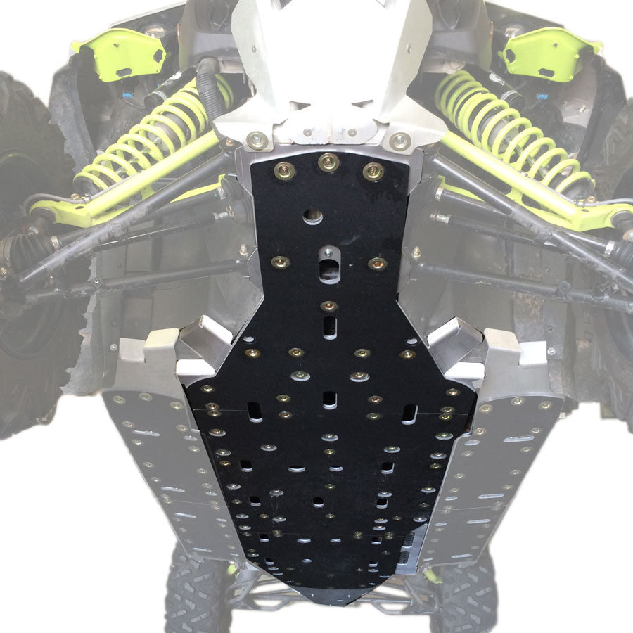 3-Piece Full Frame Skid Plate Set, Can-Am Maverick X-DS Turbo