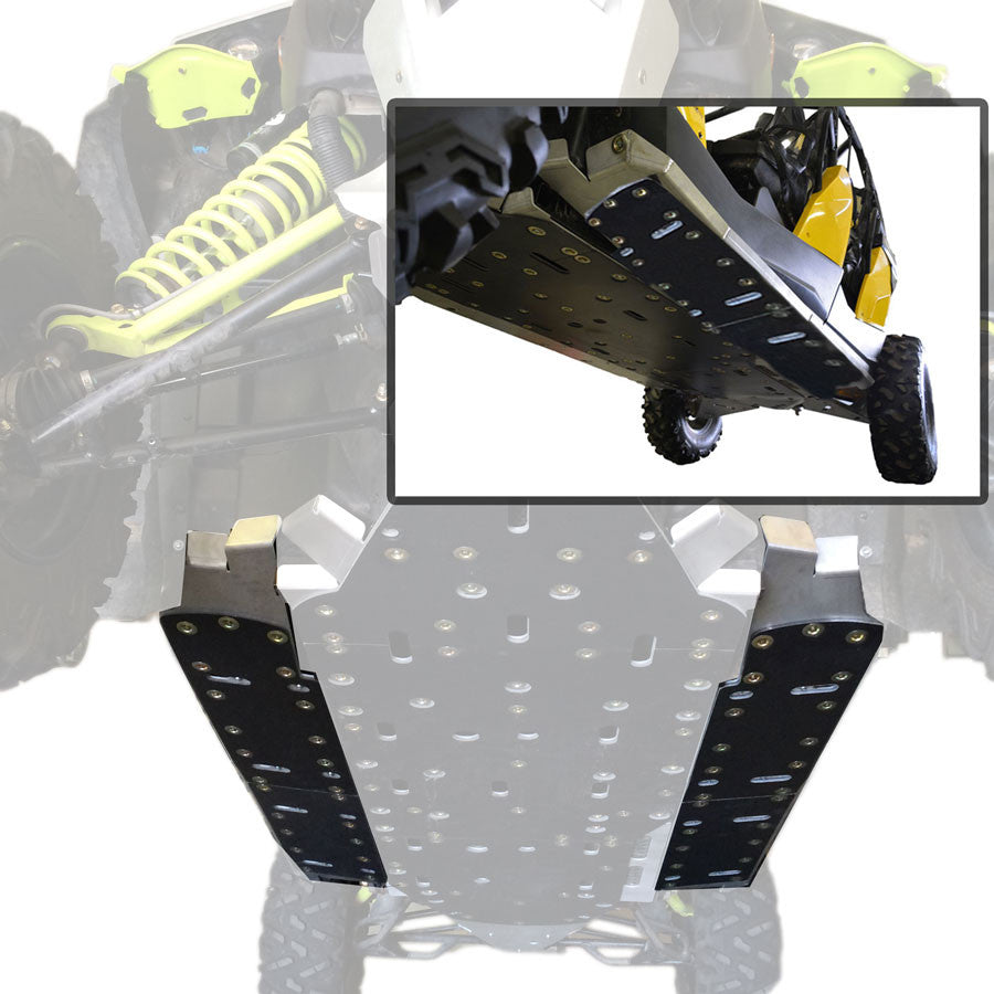 2-Piece Aluminum Rock Slider Set, Can-Am Maverick X-DS
