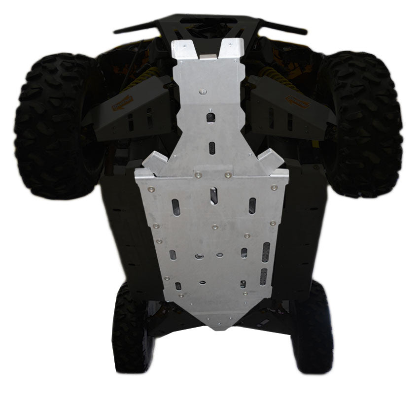 4-Piece Full Frame Skid Plate Set, Can-Am Maverick MAX X-DS Turbo