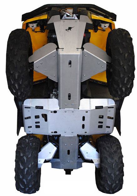 8-Piece Complete Aluminum Skid Plate Set, Can-Am Renegade 570 X-MR