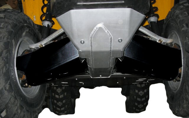 3-Piece Full Frame & Floorboard Aluminum Skid Plate Set, Can-Am Renegade 800