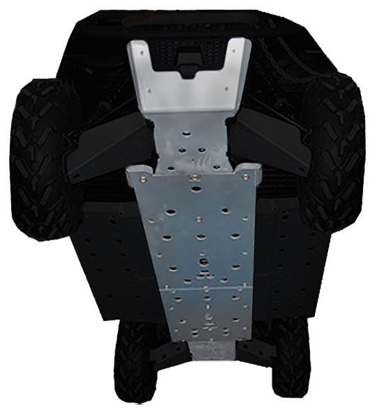 4-Piece Full Frame Skid Plate Set, Polaris Ranger Crew 800