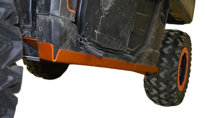 10-Piece Complete Aluminum or UHMW Skid Plate Set, Polaris Ranger XP 900 High Lifter Edition